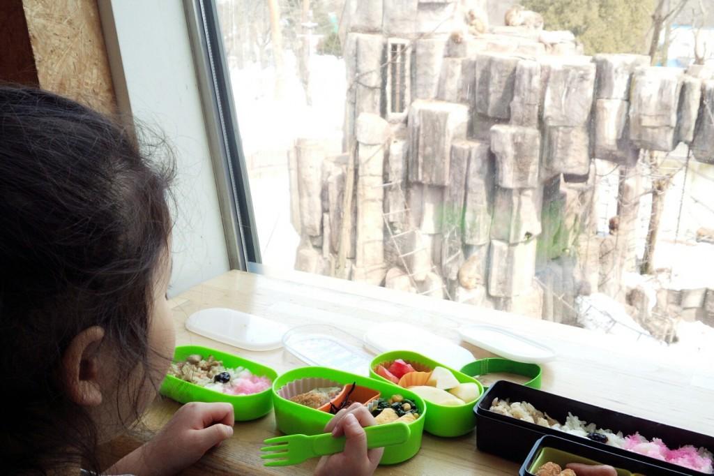 円山動物園サル山展望レストハウス