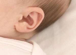 スキンケア耳